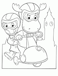 Small Picture Printable Backyardigans Coloring Pages Coloring Me Coloring Home