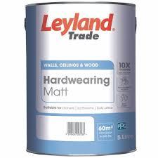Leyland Trade Hardwearing Matt Custom Mixed Colours