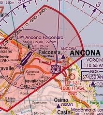 Italy Set Of 2 Wallcharts Icao Vfr Aeronautical Charts 500k 2019