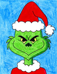 How to Draw the Grinch · Art Projects for Kids