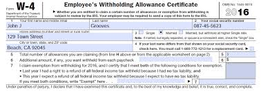 California State Tax Withholding Allowance Calculator