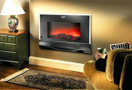 electric fireplace heater wall mount wall hung electric fireplace heater a wall mounted fireplace electric heater
