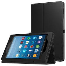 MoKo Case for All-New Amazon Fire HD 8 Tablet (7th/8th Generation, 2017/2018 Release) - Slim Folding Stand Cover 8, BLACK (with Auto Wake Best Rated in Cases \u0026 Helpful Customer Reviews Amazon.com