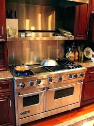 viking stove top review electric reviews gas range oven double door clean griddle g75 top