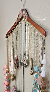 Diy Jewelry Cabinet 25 Best Ideas About Necklace Organization On Pinterest Diy