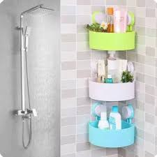 Bathroom corner rack Bathroom accessories storage rack Lazada