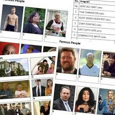 10 pub charity quiz table rounds 8 picture 1 anagram 1 ditloids