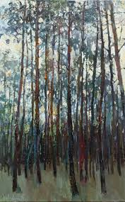 saatchi art artist anastasiya valiulina painting pine forest original landscape painting