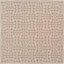alf9599 89sq 9 square camel and cream indoor outdoor rug alfresco