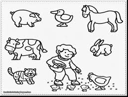unbelievable adult coloring pages farm animals with farm animals ...