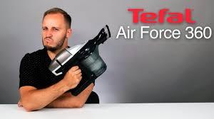 Обзор <b>беспроводного пылесоса Tefal</b> Air Force 360 - YouTube