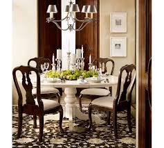 pottery barn style dining table: beautiful traditional dining room furniture uk