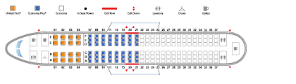 boeing 737 800 version 1 united airlines seating