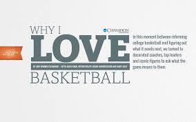 Why <b>I Love Basketball</b> | An NCAA Champion Feature | NCAA.org