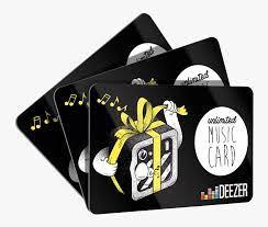 deezer gift card infoupdate org