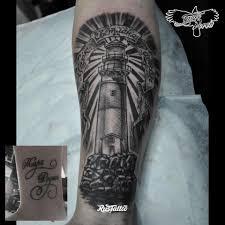 предплечье татуировки в щелково Rustattooru