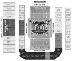 Troy University Stadium Seating Chart Troy Trojans 2018 Football Schedule