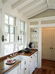 white country kitchen with butcher block. Medium Size Of French White Country Kitchen Butcher Block Countertop Cabinet Light Hardwood Floors Modern With A