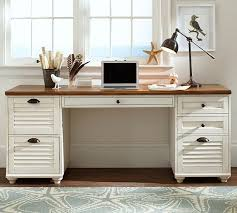 barn office furniture. pottery barn whitney rectangular desk 5-drawer rectangular desk almond white home office furniture e