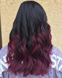 50 Shades Of Burgundy Hair Dark