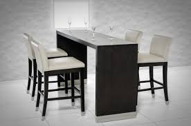 modern bar units and bar stools