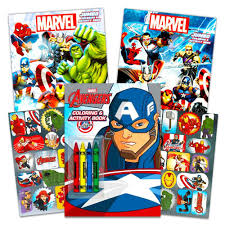 Draw and color the avengers superheroes color pages iron man bat man captain america hulk spider man. Marvel Avengers Coloring Book Super Set With Crayons 3 Jumbo Books Over 260 Pages Total Featuring Captain America Thor Hulk Iron Man And More Walmart Com Walmart Com