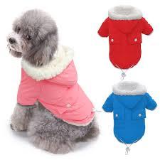 Dog Clothes Chihuahua Pug Winter Pet ...