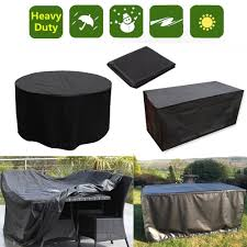 s m l xl table waterproof outdoor garden furniture cover round rectangle covers