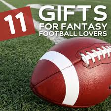 11 Gifts for Fantasy Football Lovers- your football fan will love these.