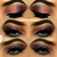 colourful makeup eye look