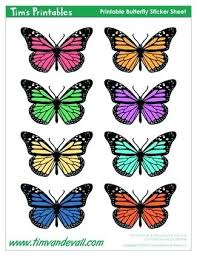 Butterfly Cutouts Template Printable Butterflies Pattern Template Popular Butterfly Cutouts