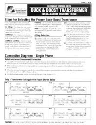 square d buck boost transformer wiring diagram wiring diagram 208v to 240v buck boost transformer at Square D Buck Boost Transformer Wiring Diagram