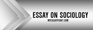 essay on sociology my essay point sociology essay