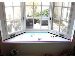 Window Seat Simple Diy Bay Window Seat Home Designs