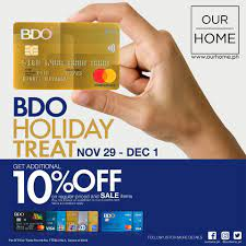 If i applied for the card together with the commodity loan, what will happen to my commodity loan if i did not activate the card? Sm City Bacolod A Big Holiday Treat For Bdo Credit And Facebook
