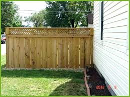 fence toppers for privacy wall toppers fence