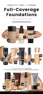 your search for the best free and vegan full coverage foundations is over with this list from to high end makeup full