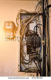 old switchboard stock images, royalty free images & vectors Old Electric Wiring electric system in cabinet building system the circuit old breakers in control box old old electric wiring