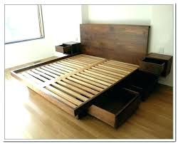 twin platform bed frame with storage – techtunes.me