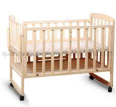 china oem adjule wheels wooden baby cot bed crib china crib baby bed