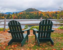 adirondack chairs lake. Unique Chairs Mirror Photograph  Adirondack Chairs In The Adirondacks Lake  Placid Ny New York On E