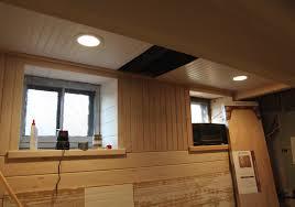 Home Lighting  Finishing Basement Ceiling Creating A New Look - Finished basement ceiling
