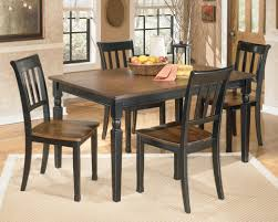 dining room table ashley furniture home: owingsville piece rectangular dining table set ashley furniture