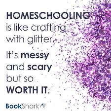 best to remember why i homeschool images homeschooling is like crafting glitter it s messy and scary but so worth it homeschooling pros and consphoto