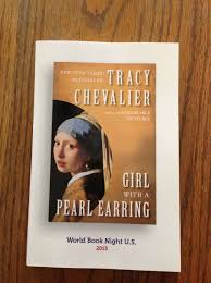 lanietankard just another wordpress com site of the thirty title choices for this year s world book night i d selected girl a pearl earring by tracy chevalier to hand out