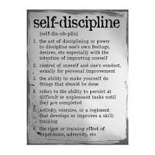 best discipline quotes ideas military code self discipline definition poster