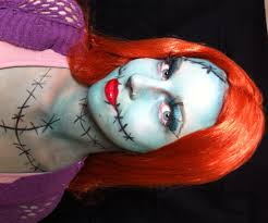 sally from the nightmare before makeup tutorial