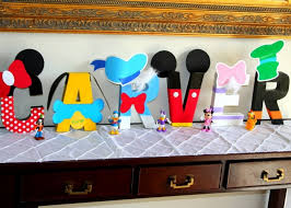 8 Mickey Mouse Name Letters 660x472