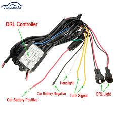 Universal Daytime Running Light Module Drl Daytime Running Light Dimmer Dimming Relay Control