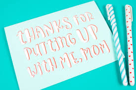 Every mum is different but each is precious to us in our own way. Send Your Mom This Easy Layered Mother S Day Card Cricut